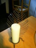 Candle Holder with Candle in Ramstein, Germany