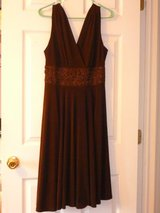 Coldwater creek beautiful brown color party dress in Fort Bragg, North Carolina
