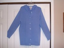 Womens Blue Hooded Sweater in Fort Riley, Kansas
